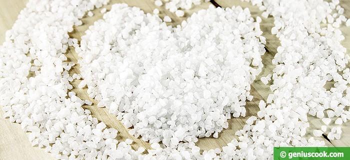 Sea salt for beauty