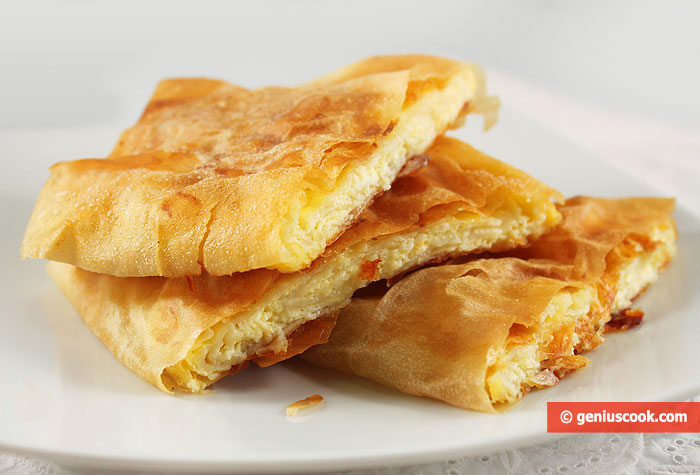 Greek Bougatsa Pie