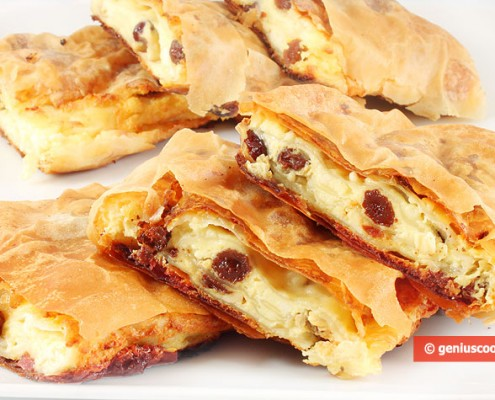 Greek Bougatsa Pie