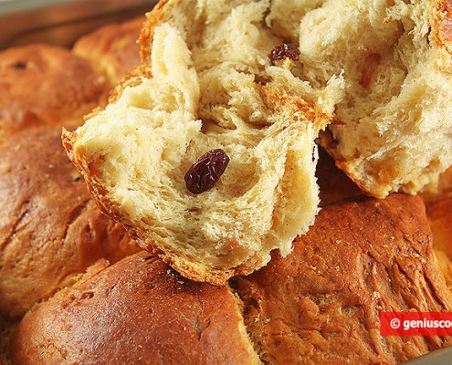 Sweet Soft Buns with Ricotta