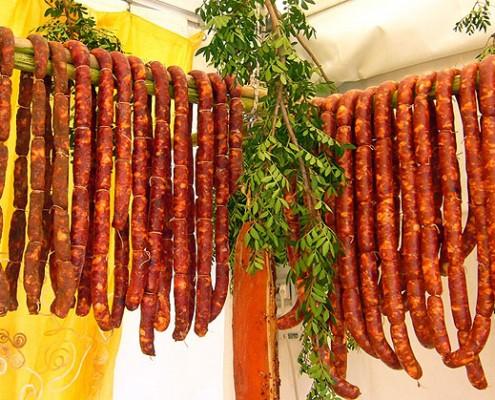 Sausage Festival in Lazio