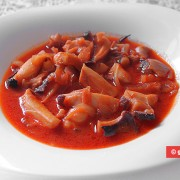 Cuttlefish in Tomato-Ginger Sauce