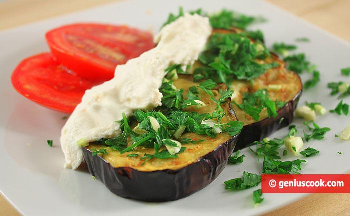 Fried Eggplants and Sauce