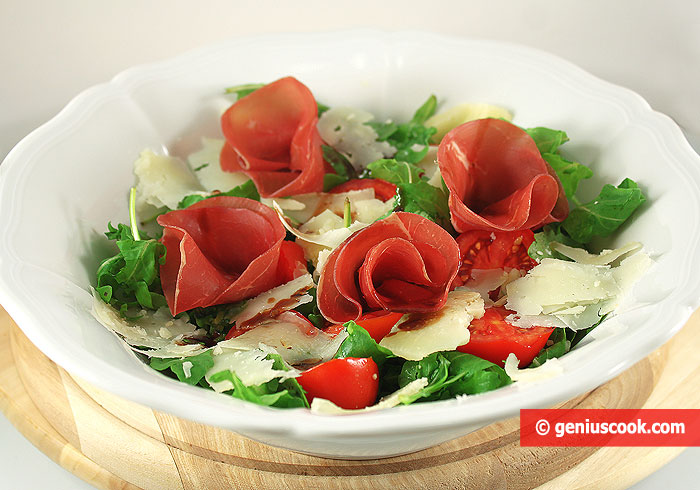 Arugula Salad with Bresaola