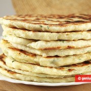 Cheese Flat Cakes with Herbs