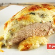 Turkey Breast with Appetizing Cheese Crust