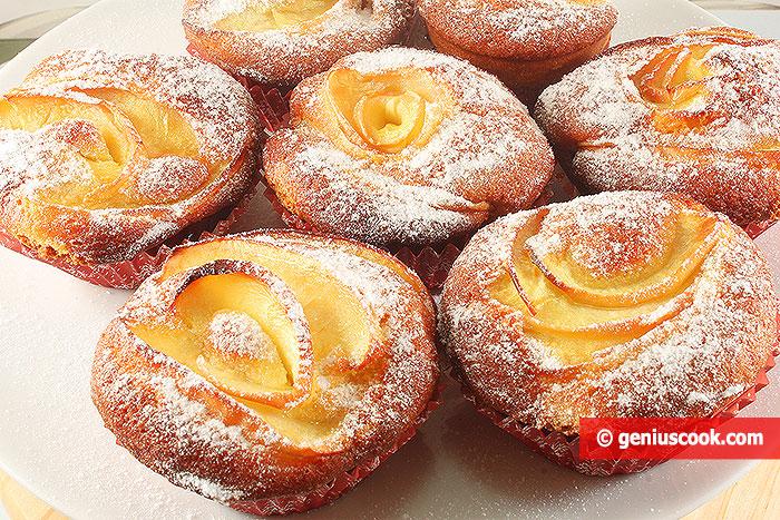Delicate Apple Muffins