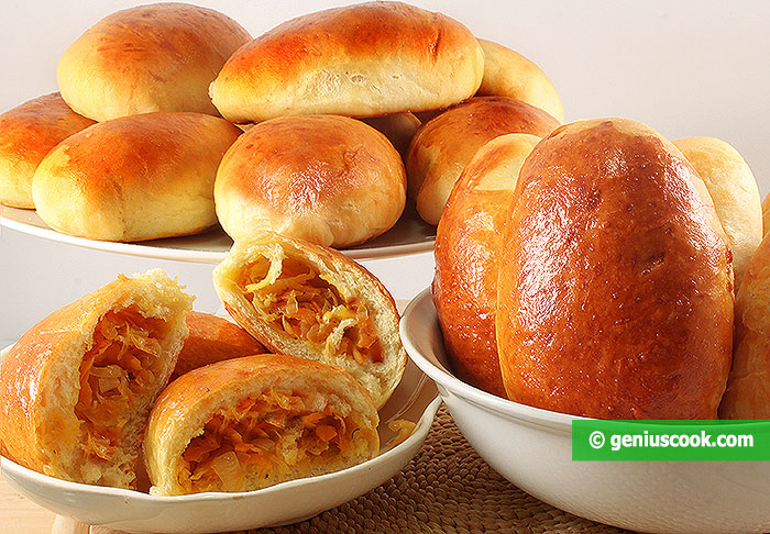Cabbage and Meat Pies Recipe