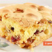 Apple Cake with a Crispy Crust