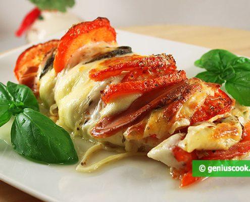 Chicken Breast with Mozzarella