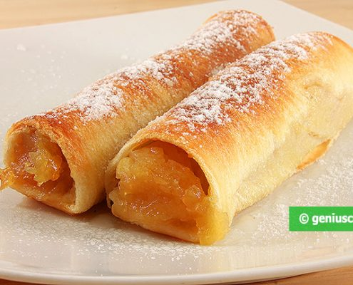 Apple Rolls. Very Tasty and Fast!
