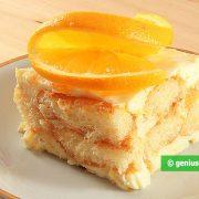 Tiramisu with Orange Cream